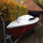 tuigage kajuit zeilboot: mastvoet, preekstoel, reling