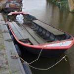 transport Casco koovlet (8 mtr) van Dorpsstraat Broek op Langedijk naar Alkmaar (Werf Witsche)