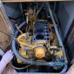 inbouwen 3 cilinder motor in stalen zeilscheepje