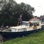 Stralen en schilderen Crown Yacht GSAK 1020