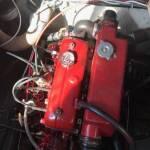 Motor loopt warm en slaat af