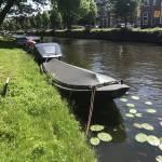 Stralen + coaten stalen vlet - Haarlem