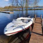 SELVA 50pk buitenboordmotor heeft onder water gelegen, z.s.m. controleren/repareren