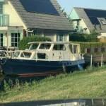 Boot vervoer van Groningen naar Den Haag 10 m lang