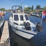 Bovenbauw schilderen boot 10  meter bij 3