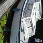 Transport Daalmeer Cruiser 9 meter lang en 2,8 meter breed van Vliettopper Leidschendam naar Almelo