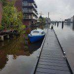 6m lang kajuitboot transport in Zaandam van Zaan