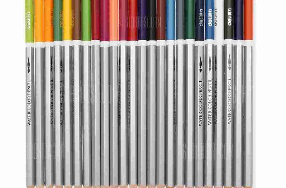 offertehitech-gearbest-DELI 6521 Assorted Water Soluble Drawing Stationery