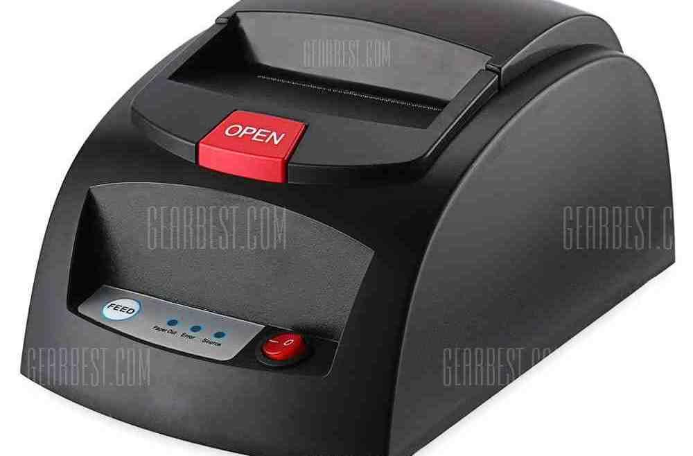 offertehitech-gearbest-Portable 48mm USB Receipt POS Thermal Printer