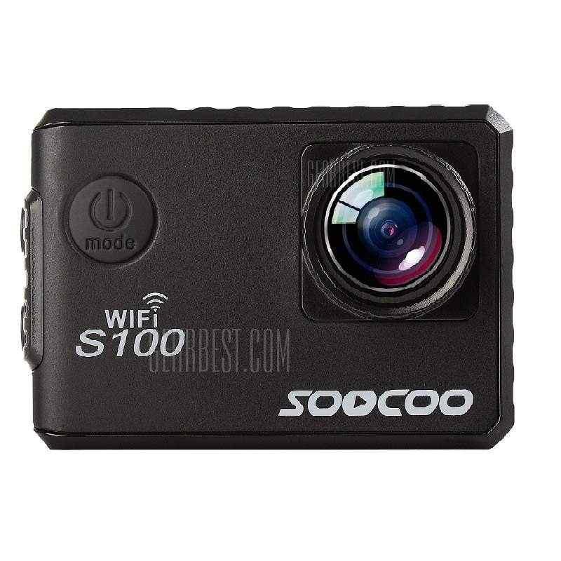 offertehitech-gearbest-SOOCOO Brand S100 Sports Webcam Wifi 4K NTK96660 Band GPS Function Gyro Waterproof