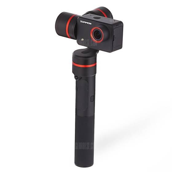 offertehitech-gearbest-FEIYU SUMMON Handheld Action Cam Stabilizer + Camera Set