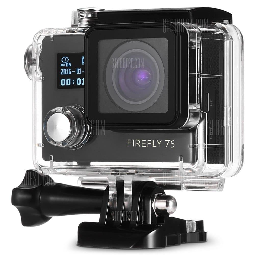 offertehitech-gearbest-Hawkeye Firefly 7S WiFi Action Camera 90 Degree No Distortion Version