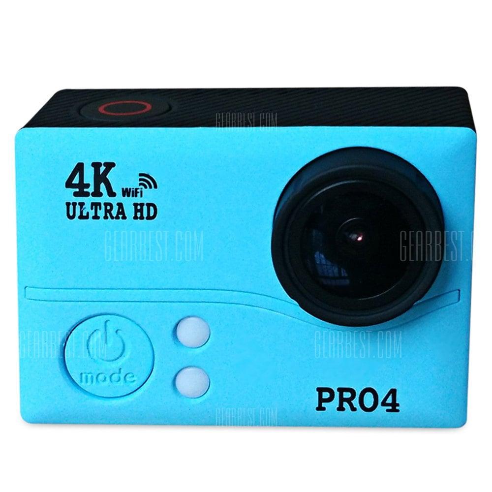 offertehitech-gearbest-PRO4 4MP 4K Ultra HD 170 Degree Wide Angle WiFi Action Camera