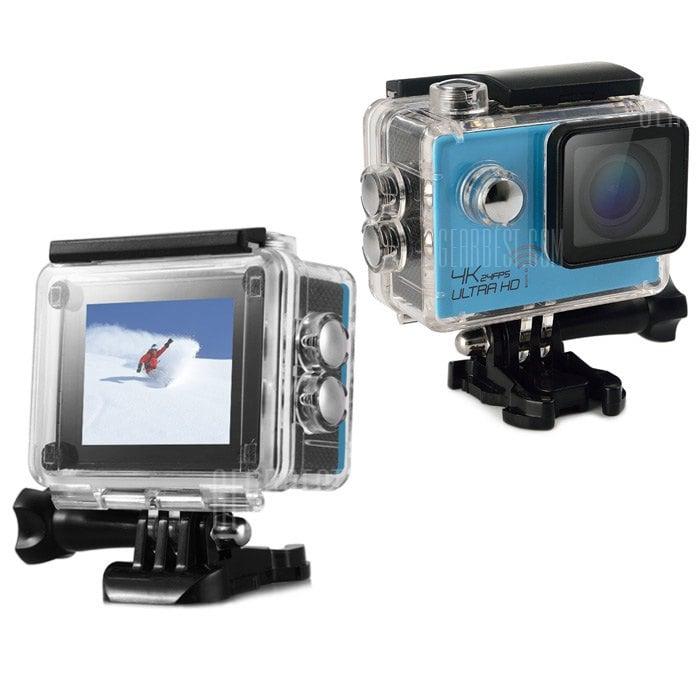 offertehitech-gearbest-SJ8000 WiFi 4K 24fps Sport DV Camera