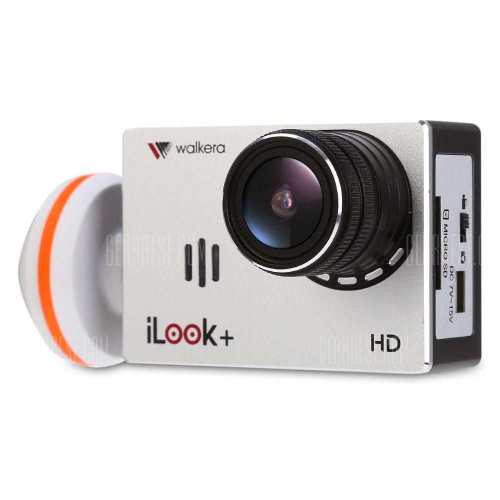 offertehitech-gearbest-Walkera iLook+ 12MP Action Camera Camcorder Set