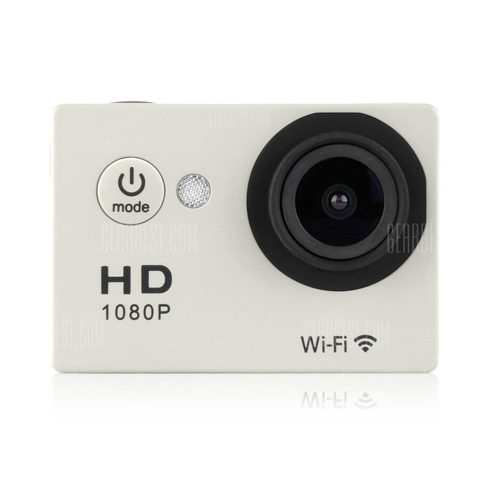 offertehitech-gearbest-Y8 30M Waterproof WiFi Full HD H264 1080p 12Mp Video DV Action Sports Camera Sliver EU