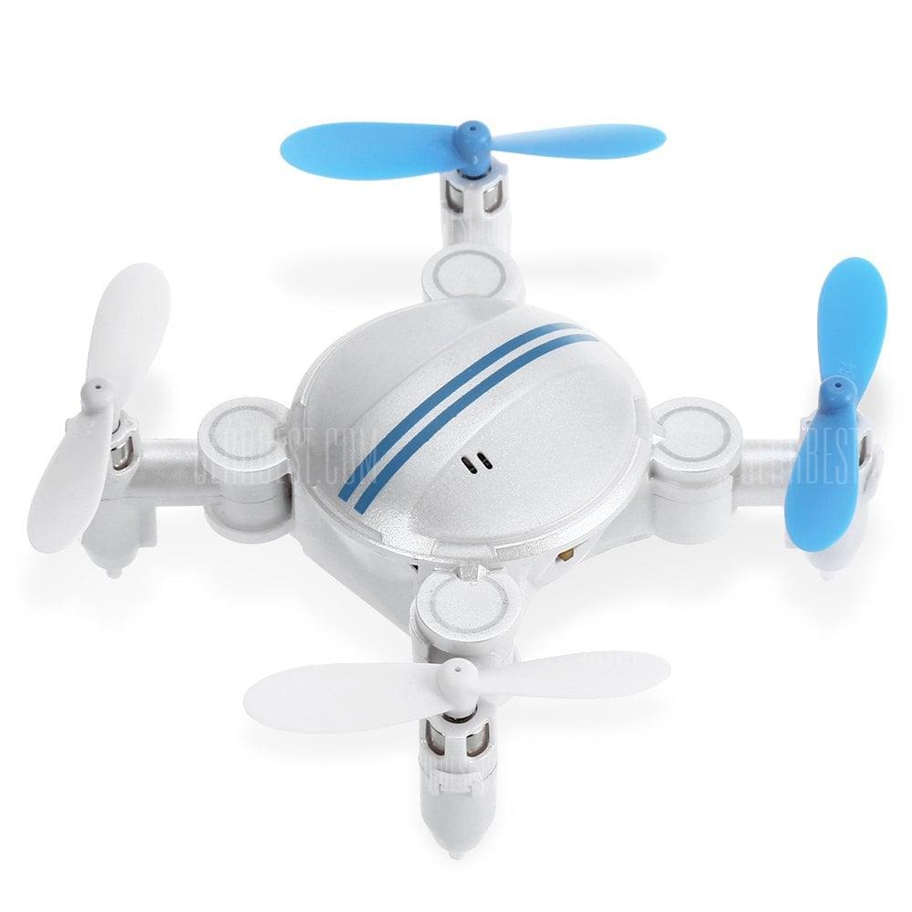 offertehitech-gearbest-Z201YS 2.4GHz 4CH Mini Foldable RC Drone - RTF