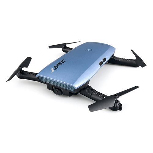 offertehitech-JJRC H47 ELFIE Plus 720P WIFI FPV Foldable Selfie Drone With Gravity Sensor Control Altitude Hold Mode RTF - Blue