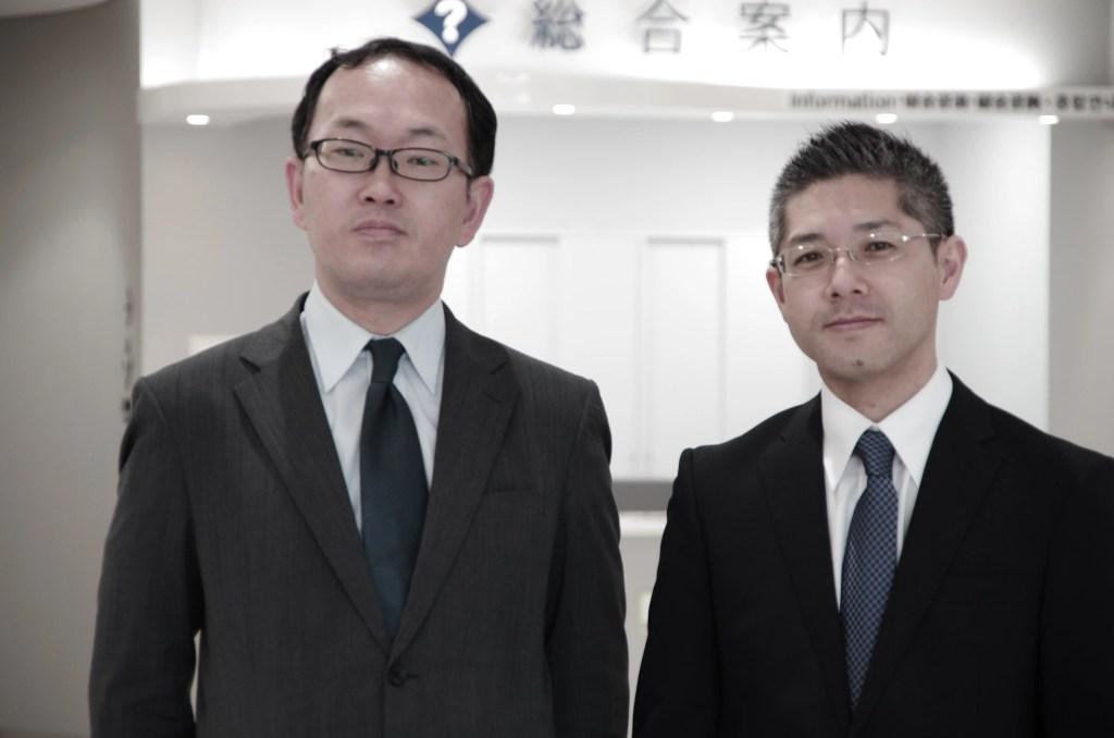 左|司法書士 齋藤遊 右|司法書士 今健一