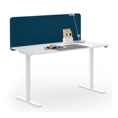 iDesk Linak Sitz-Stehtisch elektrisch weiss