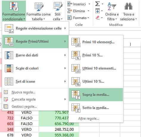 Office online - formattazione-condizionale-sopra-la-media