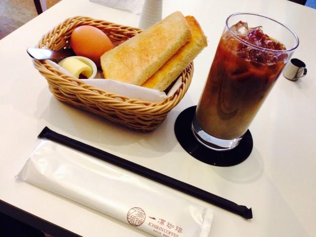 おしゃれカフェ「一凛珈琲 上尾店」のモーニング