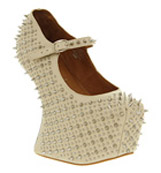 Jeffrey campbell Prickly Nude calf leather