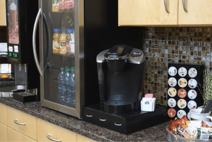 Break Room Coffee Bar