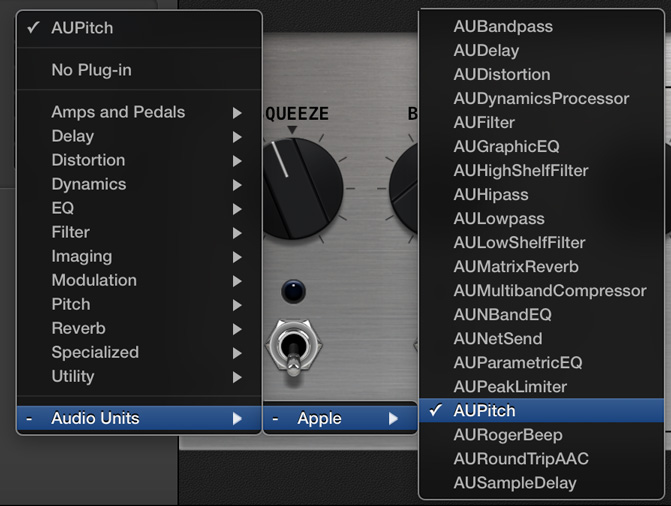 Use GarageBand 10 0 3 to Transpose a Song Imported from iTunes