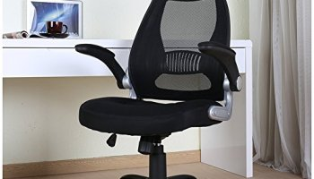 Ebs High Back Office Chair For Computer Desk Task Chair With Arms And Height Adjustable Mesh Ergonomic Support Office Chairs