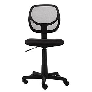 AmazonBasics Low-Back Computer Chair review