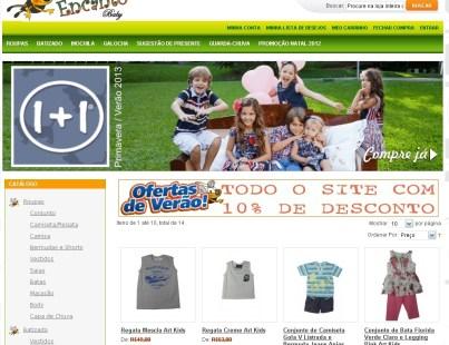 Loja de roupa infantil Doce Encanto Baby - Campo Grande-MS