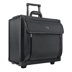Solo Wheeled Catalog Case For 15.6in. Laptops, Black