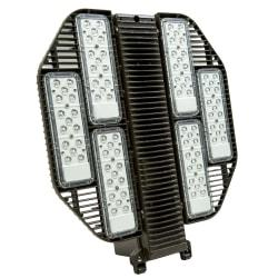 The Dorado2 is a LED luminaire designed to be mounted vertically or horizontally in outdoor applications. High-performance LEDs provide light where you need it, at a fraction of the operating cost of HID technologies.  Produces a brightness of 18,950 lumens.  5000 Kelvin (Day Light) appearance.  Get up to 200,000 hour rated life.  UL listed for performance and safety.  Dimensions: 23.2in.H x 21in.W x 7.1in.D  Weight: 34 lb  Backed by the manufacturer's 10-year warranty.  Energy efficient - designed to use less energy than alternative products, potentially helping you save money and reduce your carbon footprint.  UL Claim Validation - UL environmental claim validations lend third-party credibility to single-attribute environmental claims.