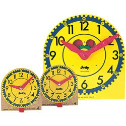 Includes 24 mini clocks and 1 original Judy Clock  Demonstrate and practice time-telling concepts.  A perfect hands-on learning tool for every student.