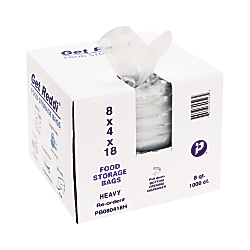 Sotre your items safely and securely  Food bags are FDA approved for sanitary storage.  Premium closure to lock in food freshness.  Easy 1-at-a-time dispensing from clam shell carton.  Bags are crystal clear with a shiny gloss.  FDA approved.