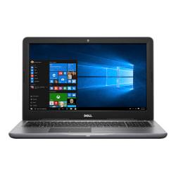 Featuring a high-speed processor and large hard drive, this laptop has the tools you need to power through your workload, even while on the road. A built-in IR camera helps you communicate with colleagues and clients when away from the office. The Dell Inspiron laptop with a 15.6in. screen includes 12GB of memory, a 1TB HDD and runs Windows 10 Home. 15.6in. display with 1366 x 768 resolution provides sharp, clear visuals when working and gaming. TrueLife LED backlighting provides a thinner, more energy-efficient screen. High-performance 7th Gen Intel Core i7 processor. Runs your programs, apps, games and more. Includes 12GB of memory to run your programs and games. Memory can be expanded up to 16GB. Additional memory is sold separately. Powerful 1TB (1000GB) hard drive holds your songs, photos, files and documents.  Features Wireless-AC (802.11ac) for high-performance, cable-free networking. Access wireless networks to share files, surf the Web and exchange e-mail. Fully compatible with 802.11b/g/n. Wired networking is also supported. Plays and burns DVDs and CDs.  Memory card reader for file transfers made fast and easy. Transfer your digital photos, music and other files from 3 types of memory cards. Features 2 USB 3.0 ports for ultrafast data transfers. USB 3.0 is up to 10 times faster than USB 2.0, yet fully compatible with USB 2.0. 1 USB 2.0 port provides additional connectivity for peripherals.  Built-in, front-facing IR webcam lets you keep in touch via video and voice messaging.  Waves MaxxAudio(R) Pro speakers provide booming audio to help create an immersive experience while watching movies and playing games.  Features Bluetooth(R) 4.2 wireless for fast, short-range data transfers.  HDMI(TM) port lets you view videos and photos on your HDTV. (HDMI cable is sold separately). Features Windows(R) 10 Home operating system.  Backed by the manufacturer's 1-year limited warranty.  Intel, the Intel Logo, Intel Inside, the Intel Inside logo, Intel Core, Intel Atom,