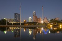 Austin office space skyline