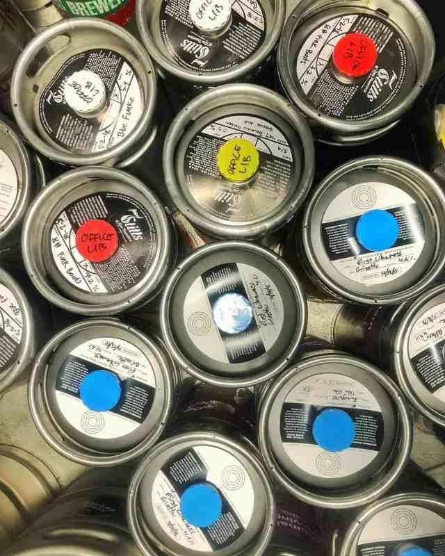 Office Libations cold brew coffee kegs, wine kegs, kombucha kegs, and beer kegs