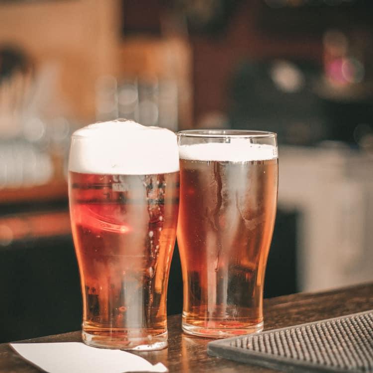 image of ale or top fermented beer