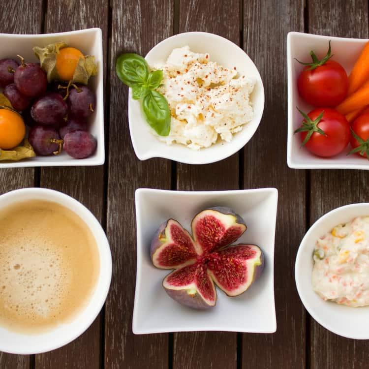 image of veggies and dip