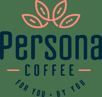 person coffee colorful logo