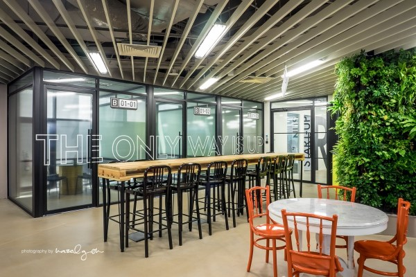 Inside The Hangars Cool Singapore Coworking Space