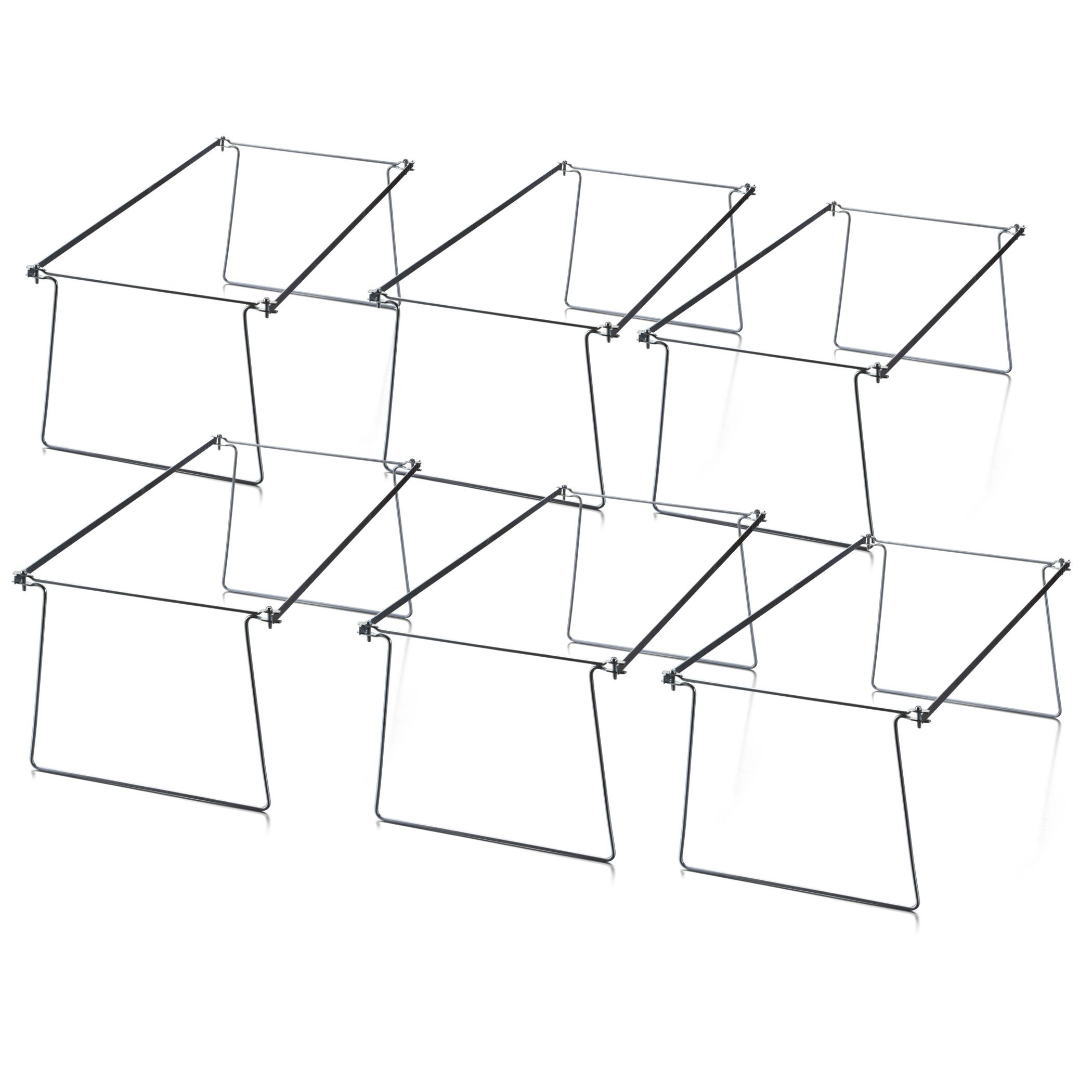 Legal Size Hanging File Frame 6 Pk
