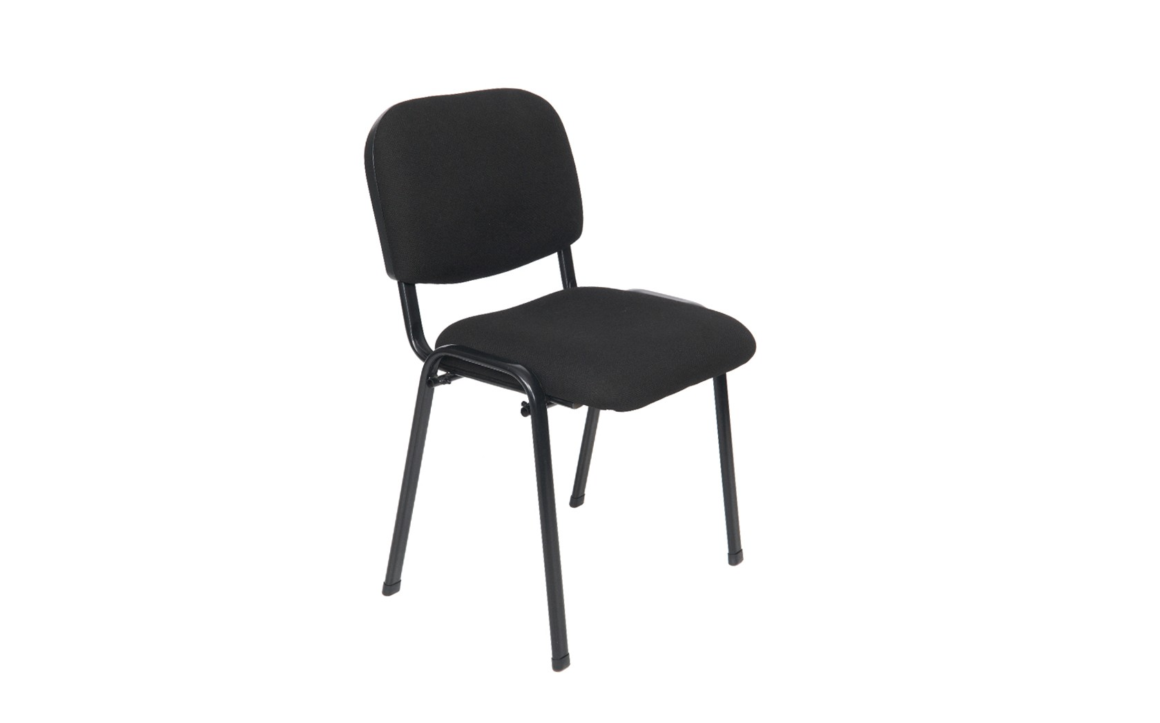 Flip Stacking Chair In Black