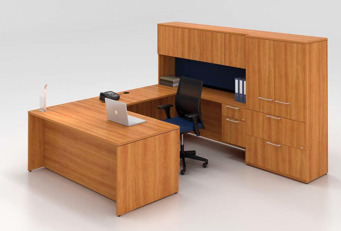 Lacasse Concept 400E Desk Series Office Resource Group