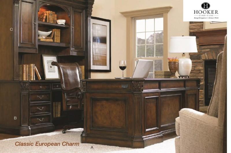Hooker Furniture European Renaissance II Series Wood