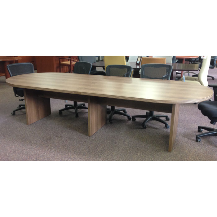 Cherryman Amber 10ft Racetrack Top Laminate Conference