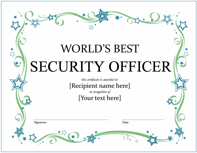 Whens The Last Time You Thanked A Good Security Officer