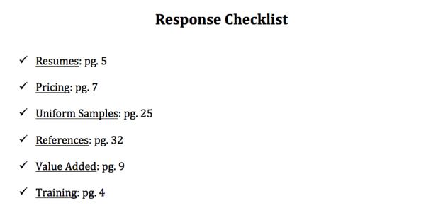 security-guard-proposal-checklist